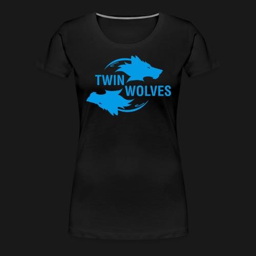 Twin Wolves Studio - Maglietta Premium da donna