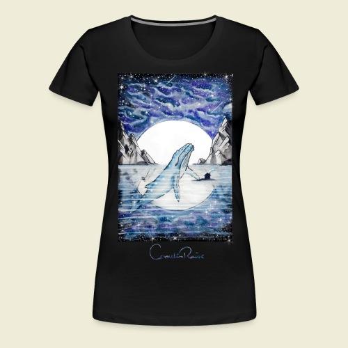 humpback whale - Women's Premium T-Shirt