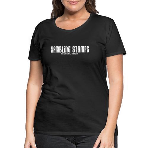Stampsstuff - Shirt - Logo - black - Frauen Premium T-Shirt