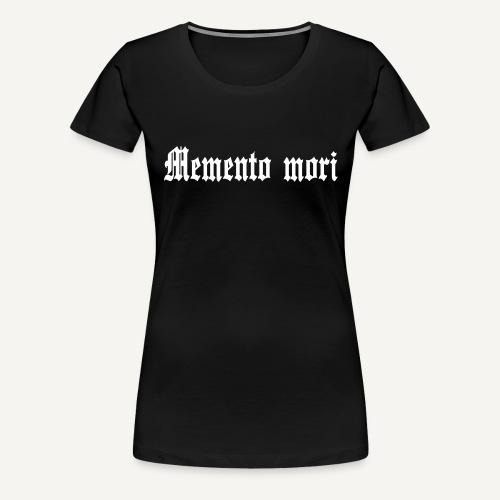mementomori - Koszulka damska Premium