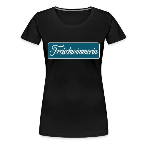 Freischwimmerin - Frauen Premium T-Shirt