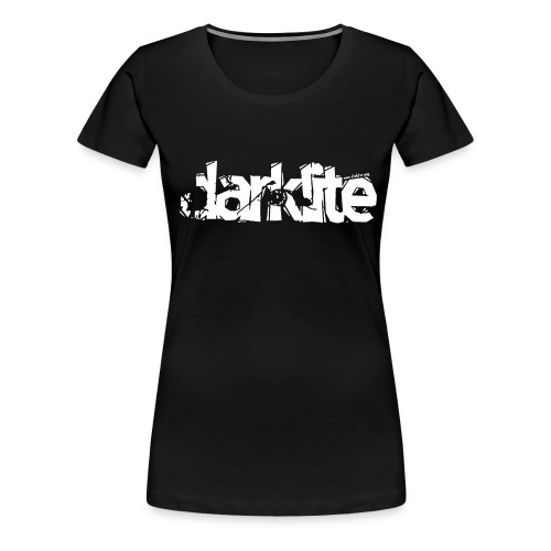 darklite logo white - Women's Premium T-Shirt
