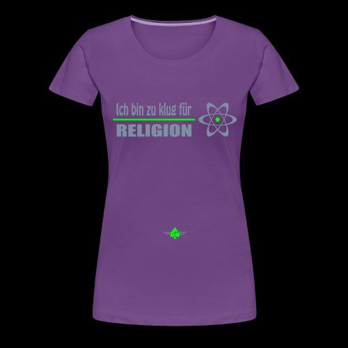 Atheist - Frauen Premium T-Shirt