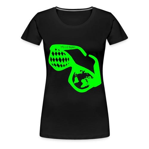 Bayrische Kulturbrille - Frauen Premium T-Shirt