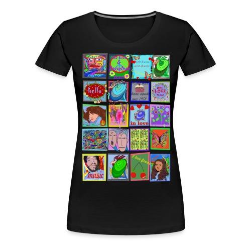 medley - Frauen Premium T-Shirt