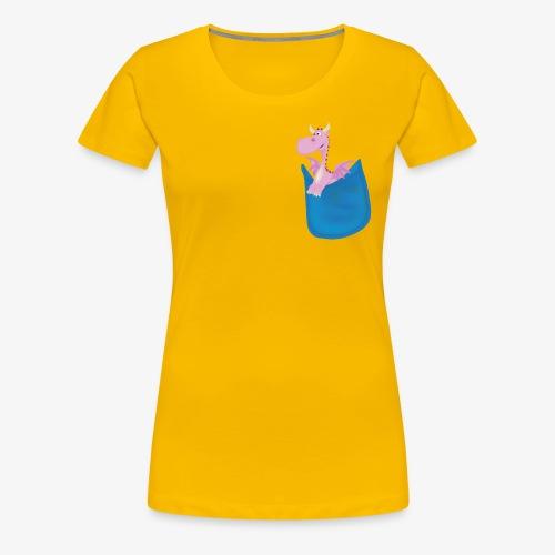 My Pocket Dragon Pal - Women's Premium T-Shirt