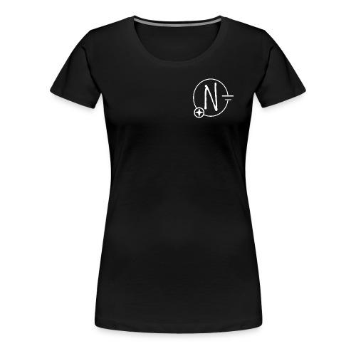 Nerdpol Logo White - Frauen Premium T-Shirt
