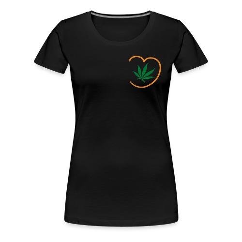 Hempathy logo - Frauen Premium T-Shirt