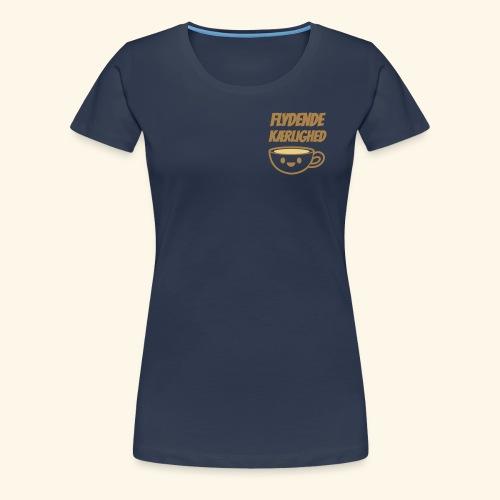 Flydende kærlighed - Dame premium T-shirt