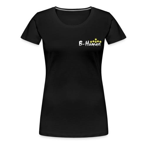 B-Human Six Star Yellow 2 - Frauen Premium T-Shirt