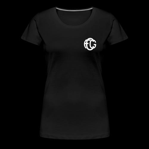 FCG Schriftzug - Frauen Premium T-Shirt