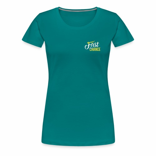 Logo Album First Chance - T-shirt Premium Femme