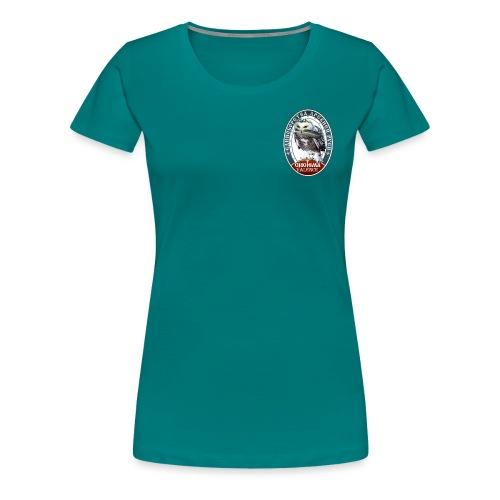 Logo avant + dos - T-shirt Premium Femme
