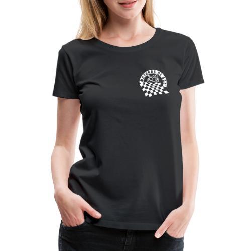 MDBAZ double logo blanc - T-shirt Premium Femme
