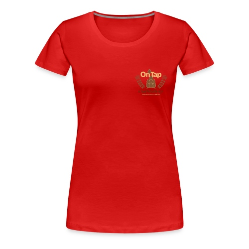 craftgallery ontap clean - Frauen Premium T-Shirt