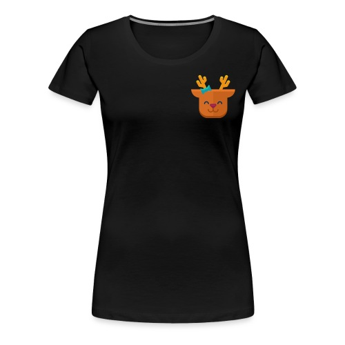 When Deers Smile by EmilyLife® - Women's Premium T-Shirt
