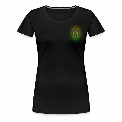1980's Bigfoot Glow Design - Women's Premium T-Shirt