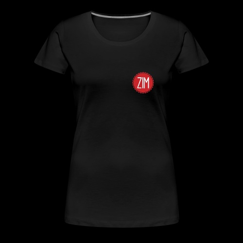 Logo grand png - T-shirt Premium Femme