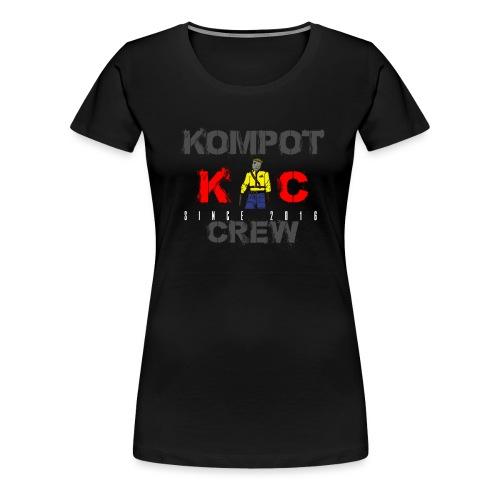 Abbigliamento Kompot Crew - Maglietta Premium da donna