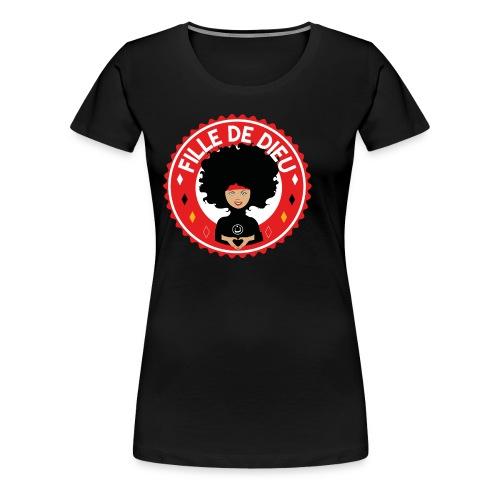 fille de Dieu rouge - T-shirt Premium Femme
