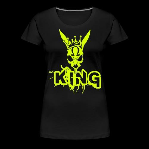 King Rabbit - Maglietta Premium da donna