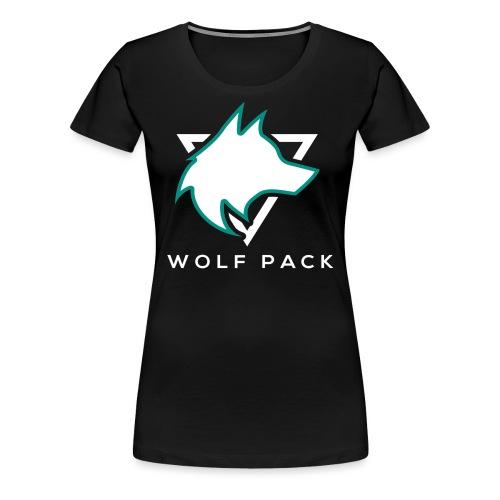 Wolf Pack Logo (NEW) - Women's Premium T-Shirt