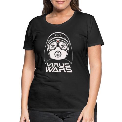 Virus Wars - Frauen Premium T-Shirt