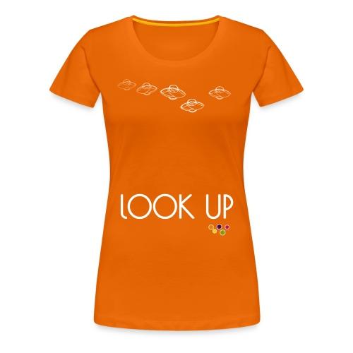 Look Up - Women's Premium T-Shirt
