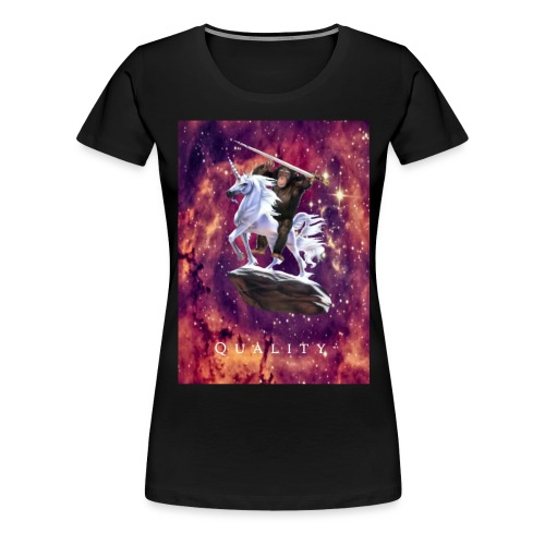 space monkey: the conqueror - Women's Premium T-Shirt