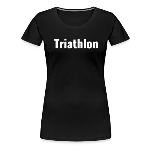 Triathlon - Frauen Premium T-Shirt