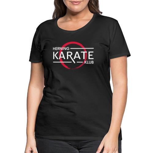 HKK Hvid - Dame premium T-shirt