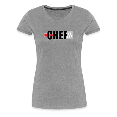CHEFLOGO - T-shirt Premium Femme