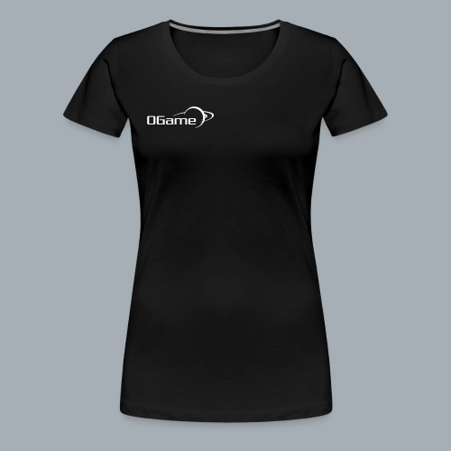 OGame Women´s T-Shirt with rolled up sleeves - Women's Premium T-Shirt