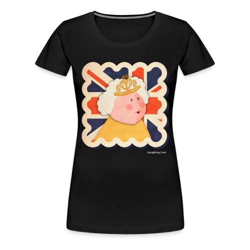 The Queen - Women's Premium T-Shirt