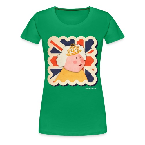 The Queen - Women's Premium T-Shirt
