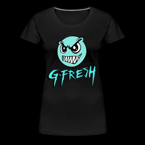 G-Fresh logo - Vrouwen Premium T-shirt