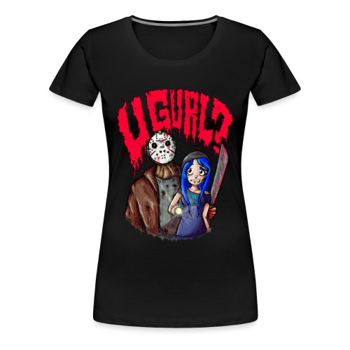 Kinko Klix ''U GURL?!'' - Women's Premium T-Shirt