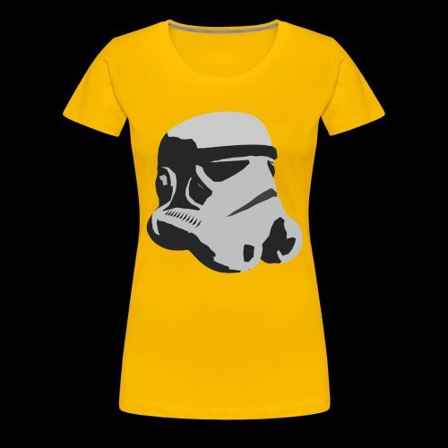 Stormtrooper Helmet - Women's Premium T-Shirt