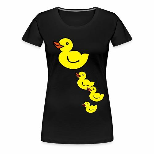 Ente - Frauen Premium T-Shirt