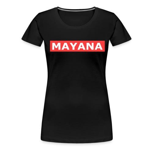 BANDEROLE - T-shirt Premium Femme