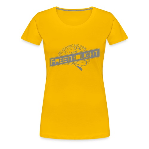 Freethought - Women's Premium T-Shirt