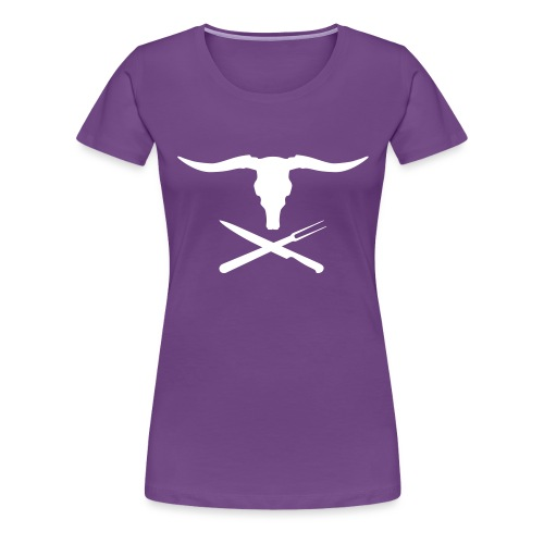 Cowly Roger - Vrouwen Premium T-shirt