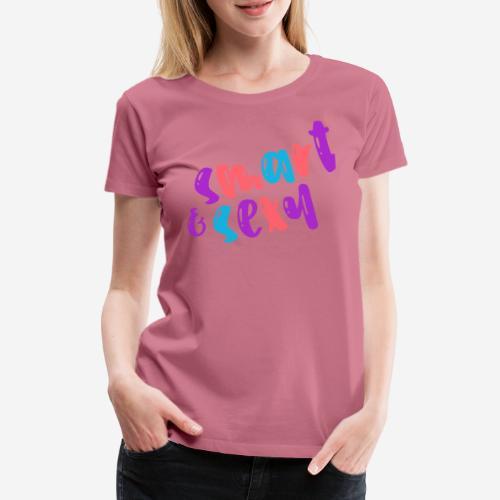 smart clever cute nice - Frauen Premium T-Shirt