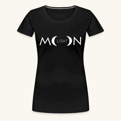 MoonLight white - Maglietta Premium da donna