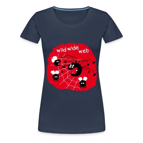 wild wide web - T-shirt Premium Femme