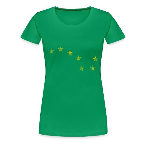 starry plough grunge - Women's Premium T-Shirt