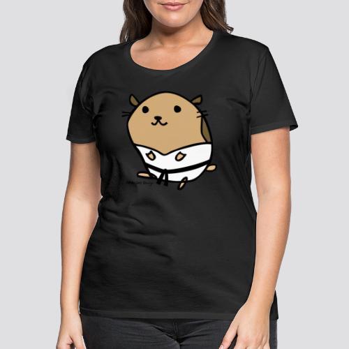 Hamster - Vrouwen Premium T-shirt