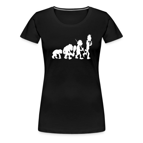 Evo White - Frauen Premium T-Shirt