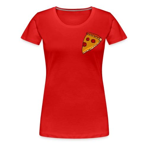 pizza - Dame premium T-shirt