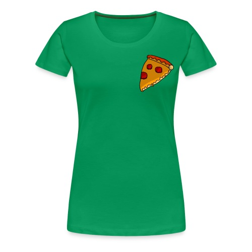 pizza - Dame premium T-shirt